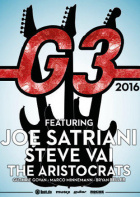 G3 - Joe Satriani, Steve Vai, The Aristocrats