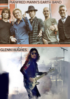 Manfred Mann's Earth Band + Glenn Hughes