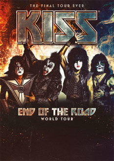 Kiss, End Of The Road World Tour 2019